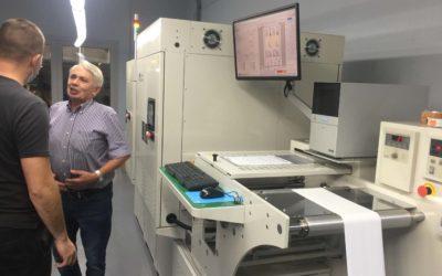 Rodzaj maszyny drukarskiej  aetykiety cyfrowe